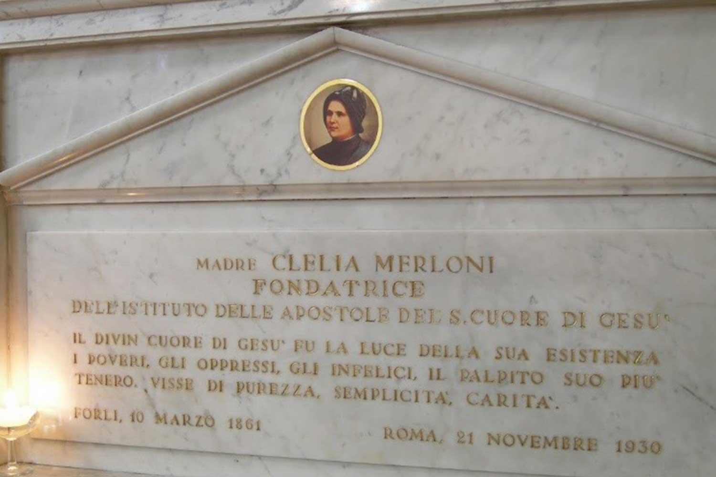 MADRE CLÉLIA MORRE EM ROMA
