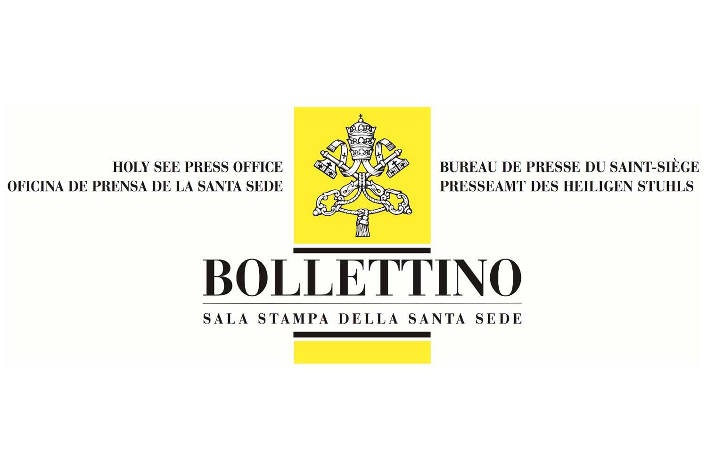 Bollettino - Santa Sede