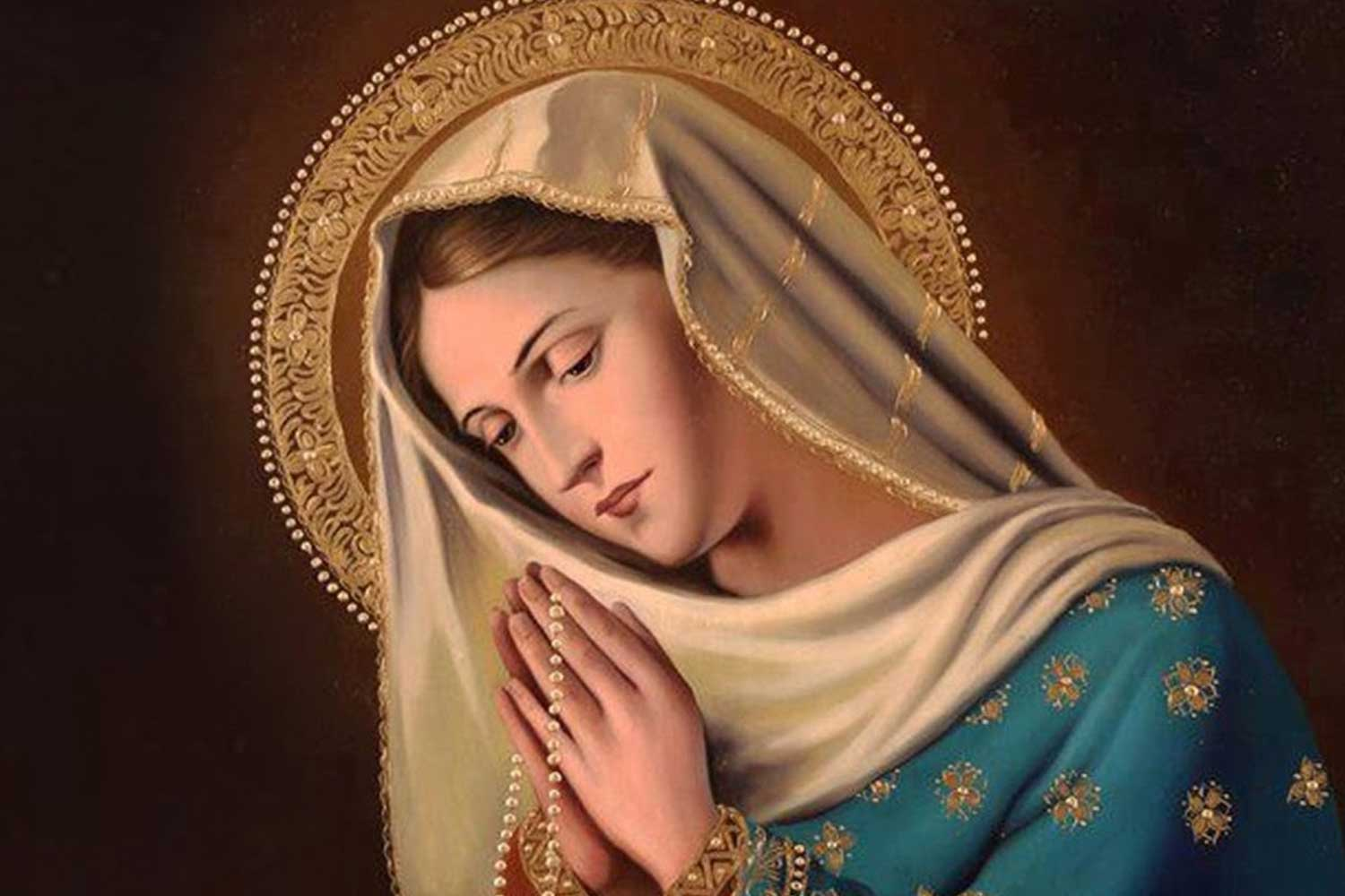 THE BLESSED MOTHER – Mother Clelia
