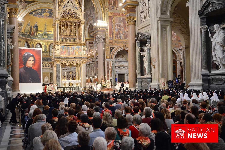 vatican news - Beatificação Clélia Merloni