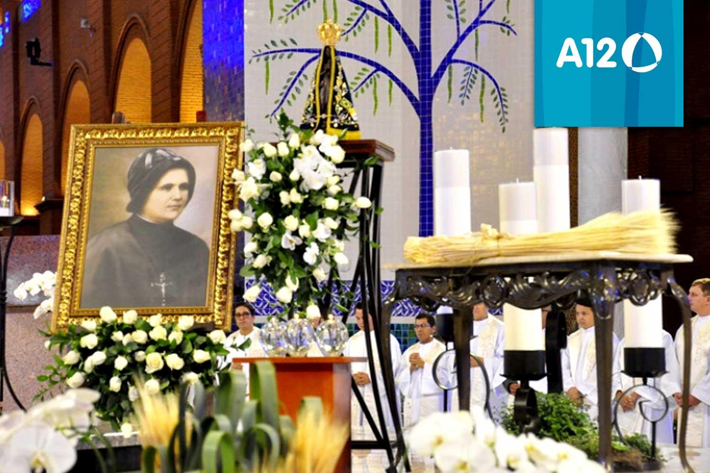 Agradecendo a Beatificação de Clélia Merloni - Aparecida